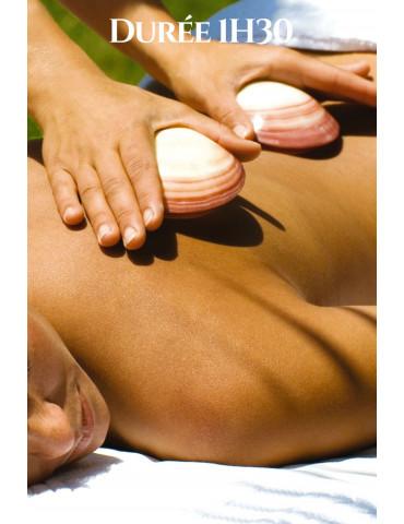 Massage Lava Shell Indonésien à Marseille